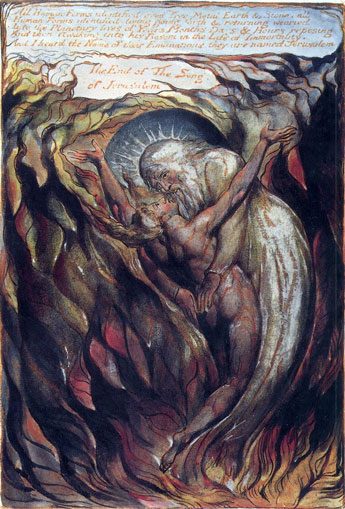 Entrega del alma a Dios. William Blake, Jerusalem.