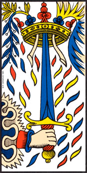 As de Espadas del Tarot