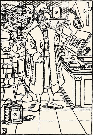 August Strindberg, Antibarbarus. Estocolmo, 1906.